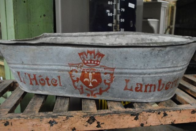Painted French Tub X3