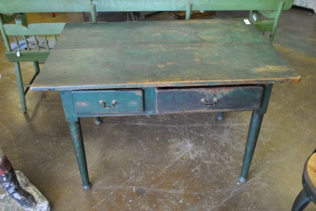 Early Painted Country Table