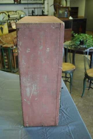 Early Painted Hanging Cupboard - 3