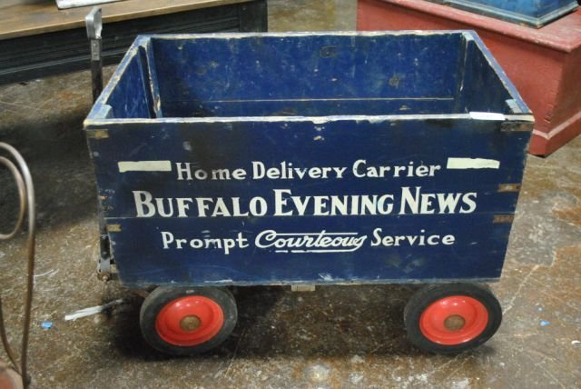 Buffalo Evening News Wagon   (322)