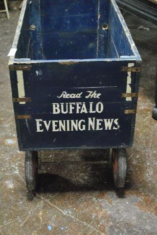 Buffalo Evening News Wagon   (322) - 2