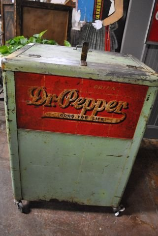 Dr. Pepper Drink Box