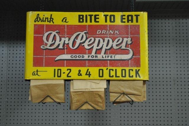 """Dr. Pepper Sack Rack 18 3/4""""T, 24""""L"""