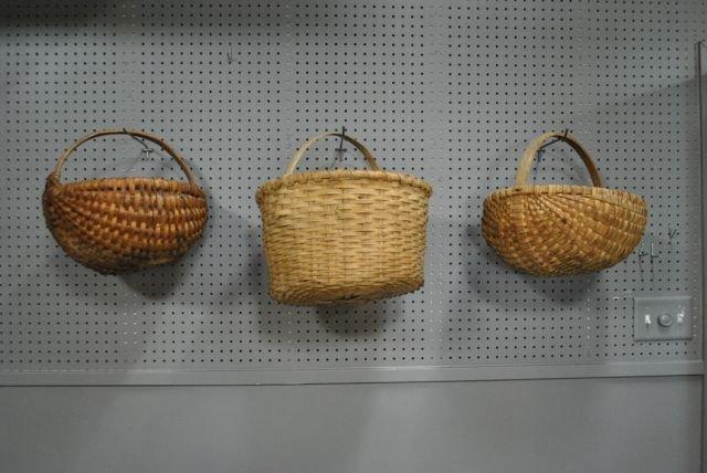 Early Split Hickory Basket X3