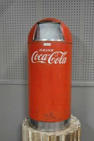 Coca Cola Trashcan