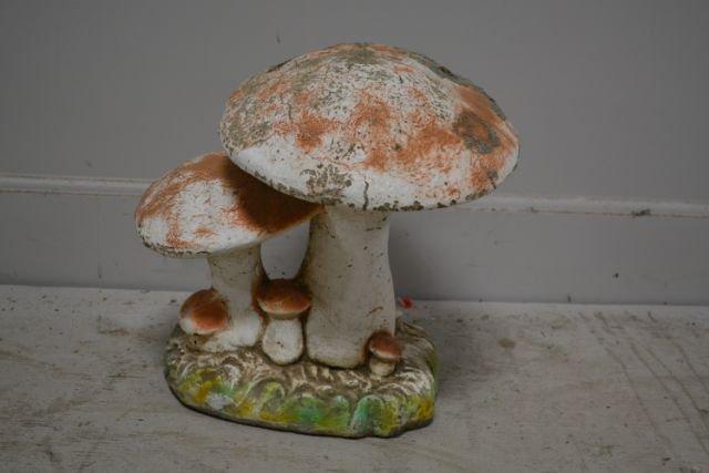 Concrete Mushroom X2
