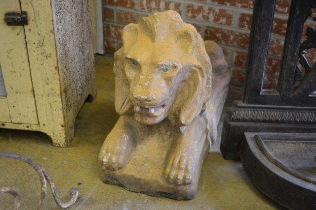 Concrete Garden Lion