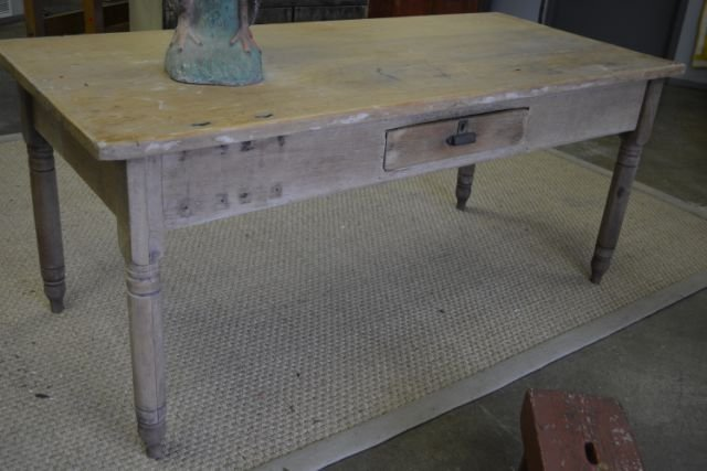 """Work Table 33 3/4""""H, 78 1/2""""L, 35 1/2""""W"""
