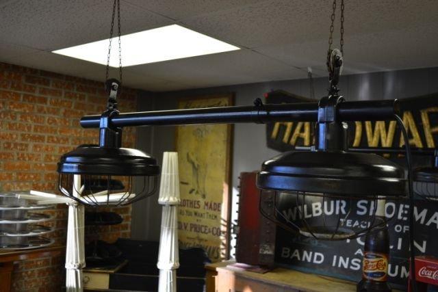 Industrial Hanging Light- 2 Light X2