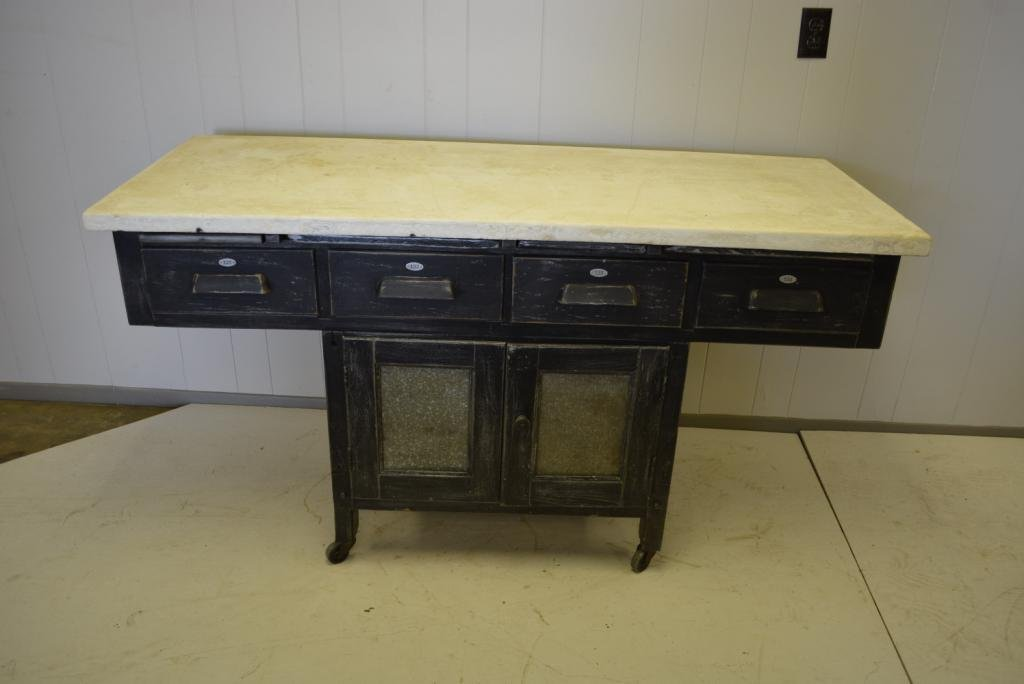 """Industrial Work Counter 32""""H, 60""""L, 23 3/4""""W"""