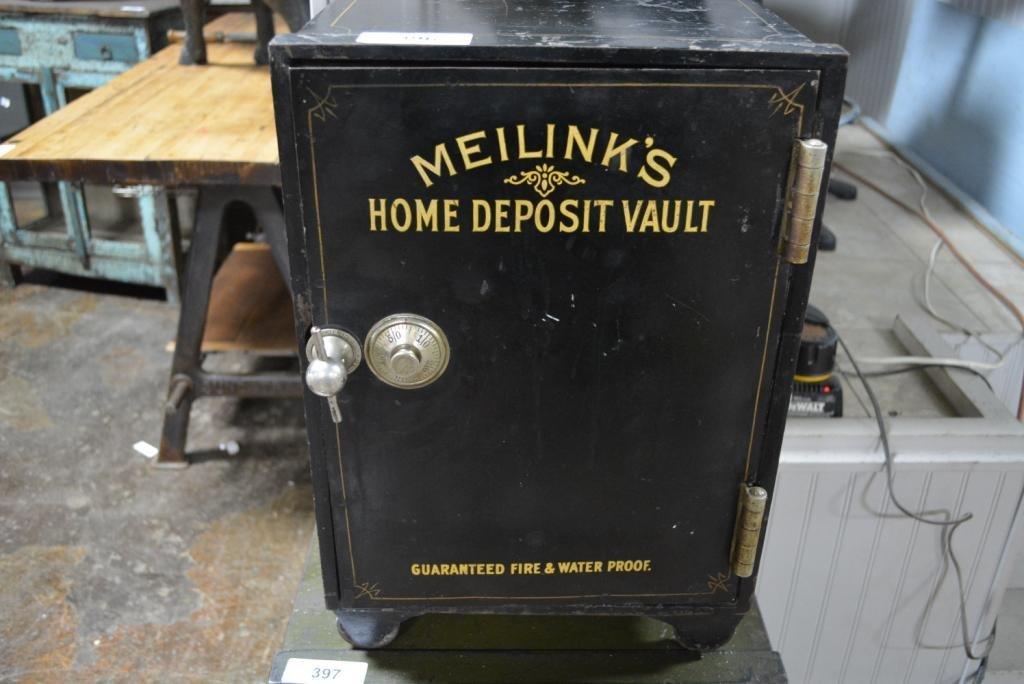 """Meilinks Home Deposit Vault w/ Combination 20""""H, 13"""