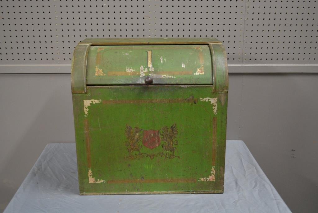 """General Store Tea Tin 20 1/4""""H, 20""""L, 12 1/4""""W"""