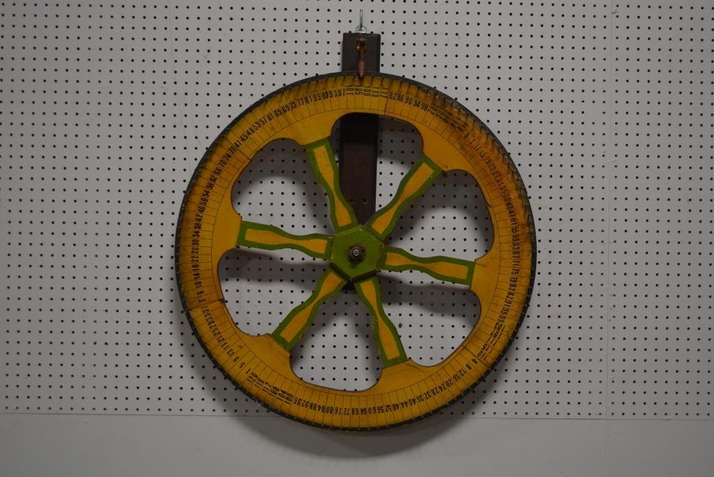 "Folky Game Wheel 32"" round"