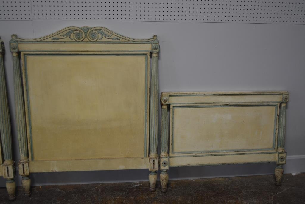 Painted French Twin Beds X2 - 3