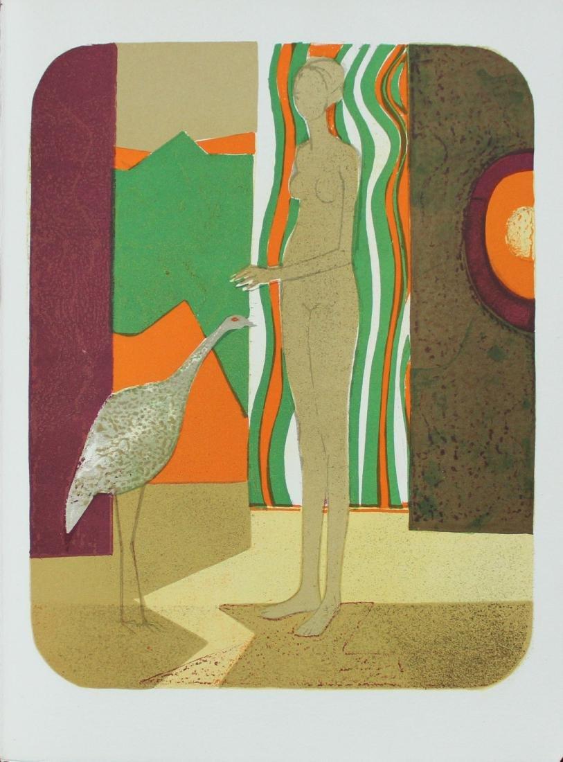 """Andre Minaux - """"La Femme et L'oiseau"""" from Souvenirs de"""