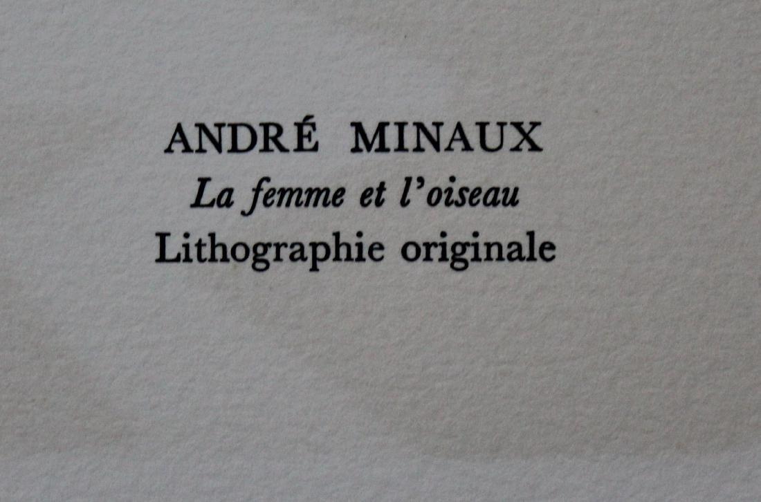 """Andre Minaux - """"La Femme et L'oiseau"""" from Souvenirs de - 2"""