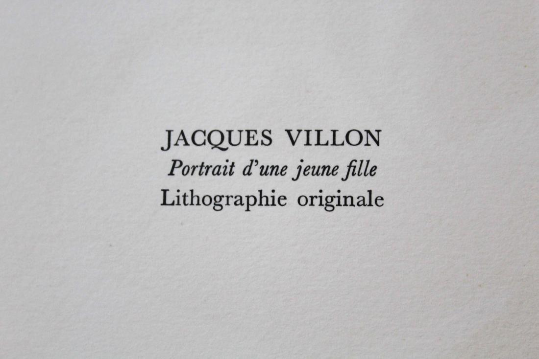 """Jacques Villon - """"Portrait d'une jeune fille"""" from - 2"""