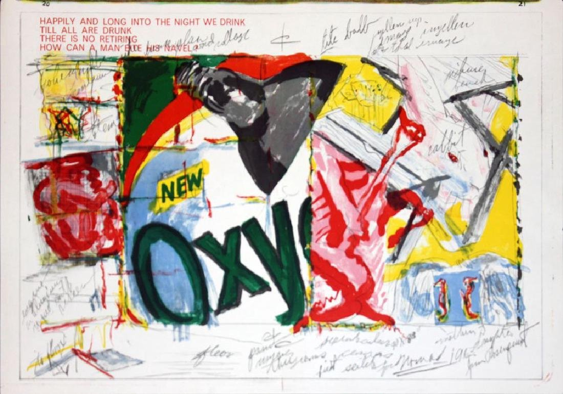 James Rosenquist, from One Cent Life