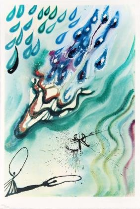 The Pool of Tears by Salvador Dali