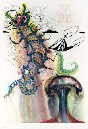 Advice from a Caterpillar by Salvador Dali