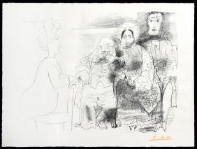 Portrait de Famille by Pablo Picasso