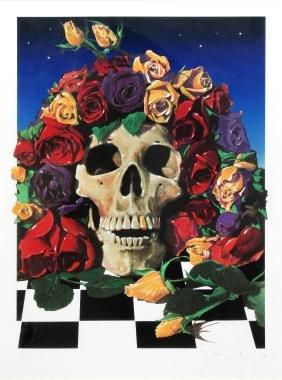 Grateful Dead Rock Art Skull by Stanley Mouse Miller