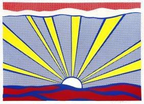 Sunrise by Roy Lichtenstein