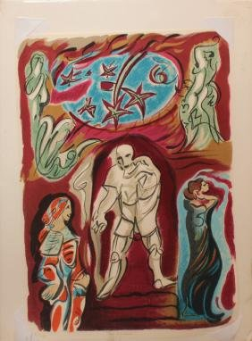 "Andre Masson ""Don Giovanni"""