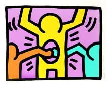 Keith Haring - Untitled II