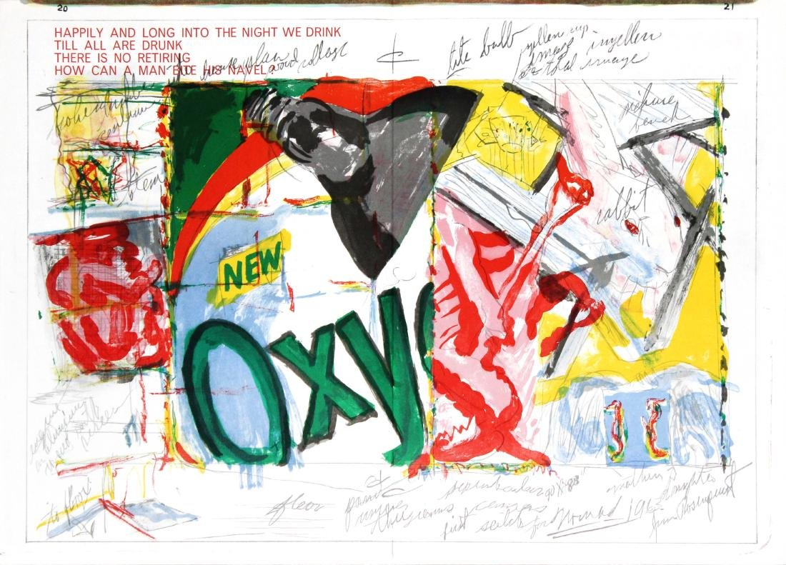 James Rosenquist - Untitled from One Cent Life