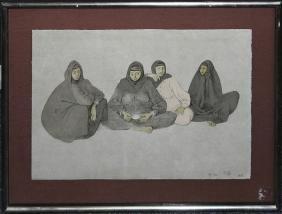 Francisco Zuniga - Impresiones De Egipto, Plancha 7