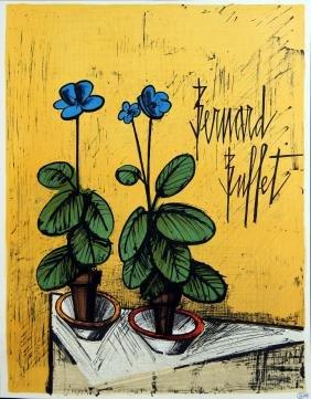 Bernard Buffet - Flowers
