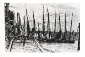 Billingsgate by James McNeill Whistler