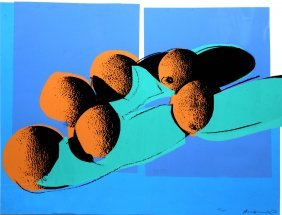 Andy Warhol - Blue Cantaloupes