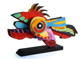 Karel Appel - Flying Fish
