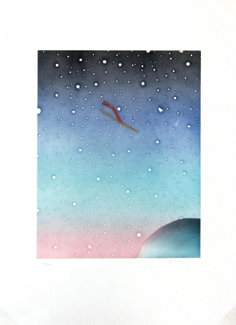Jean-Michel Folon - Ski Jump