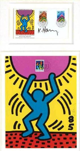 Keith Haring - International Youth Year