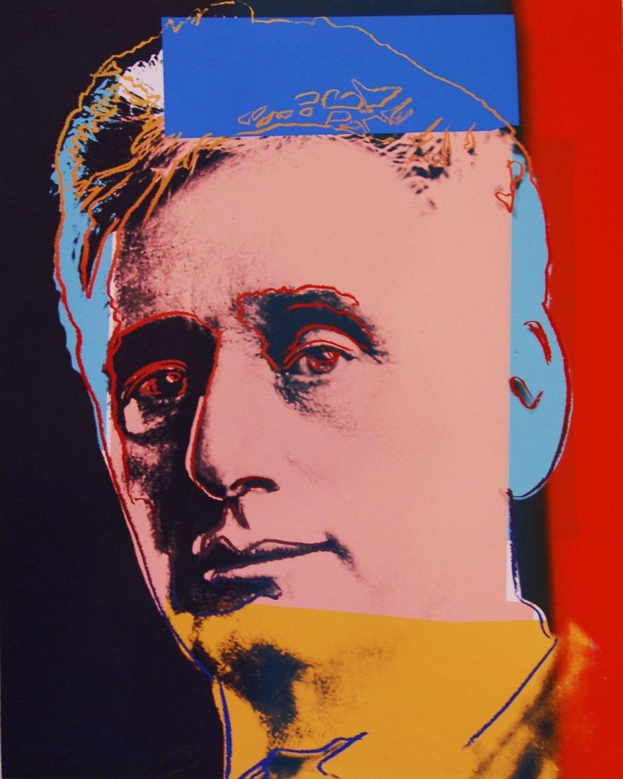 """Andy Warhol """"Louis Brandeis"""""""