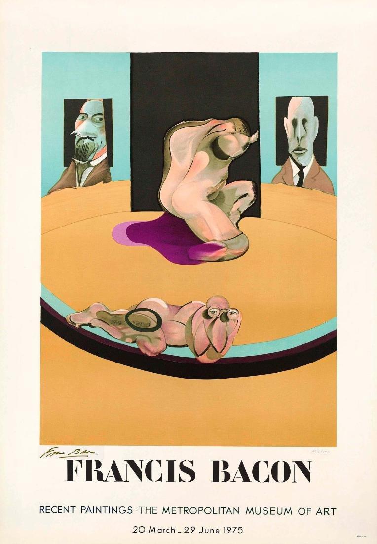 Francis Bacon - Hand Signed Metropolitan Museum of Art