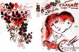 Marc Chagall  Chagall Lithographs Vol III