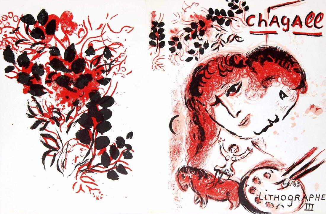 Marc Chagall - Chagall Lithographs Vol. III