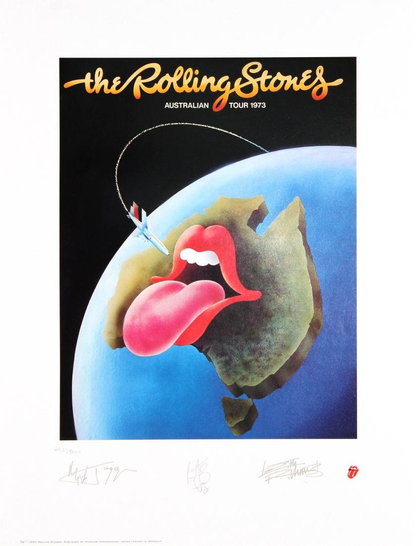The Rolling Stones - Australian Toue 1973