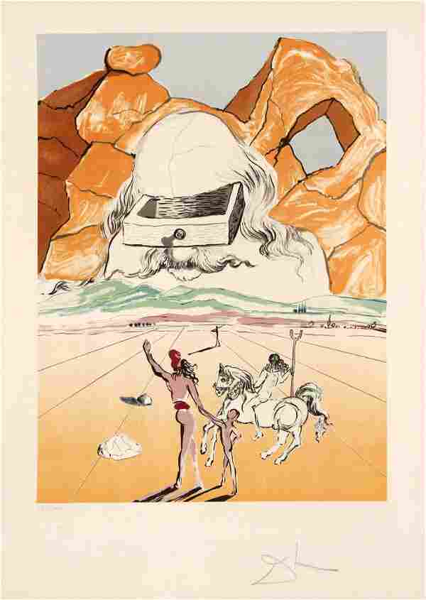 Salvador Dali - The Path to Wisdom - The Banker