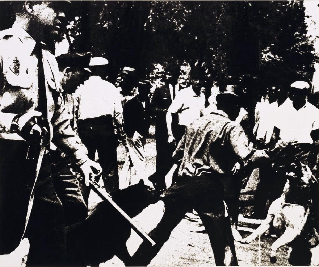 Andy Warhol - Birmingham Race Riot, 3rd Warhol Print Ev