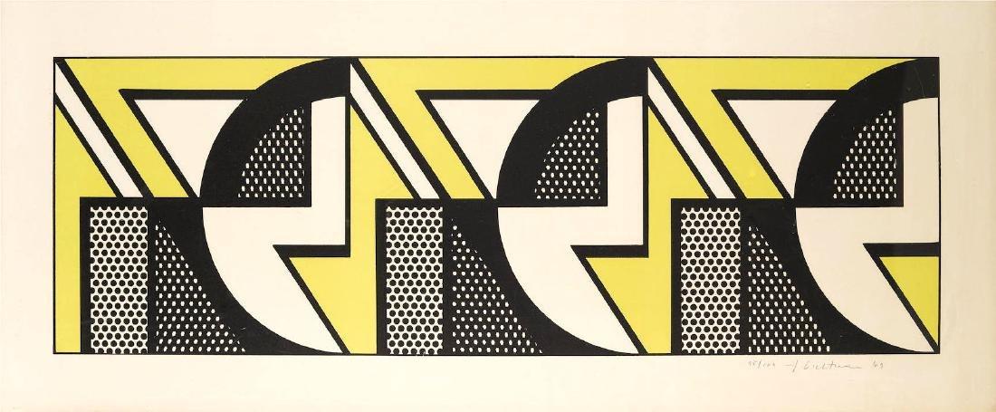 Roy Lichtenstein - Repeated Design