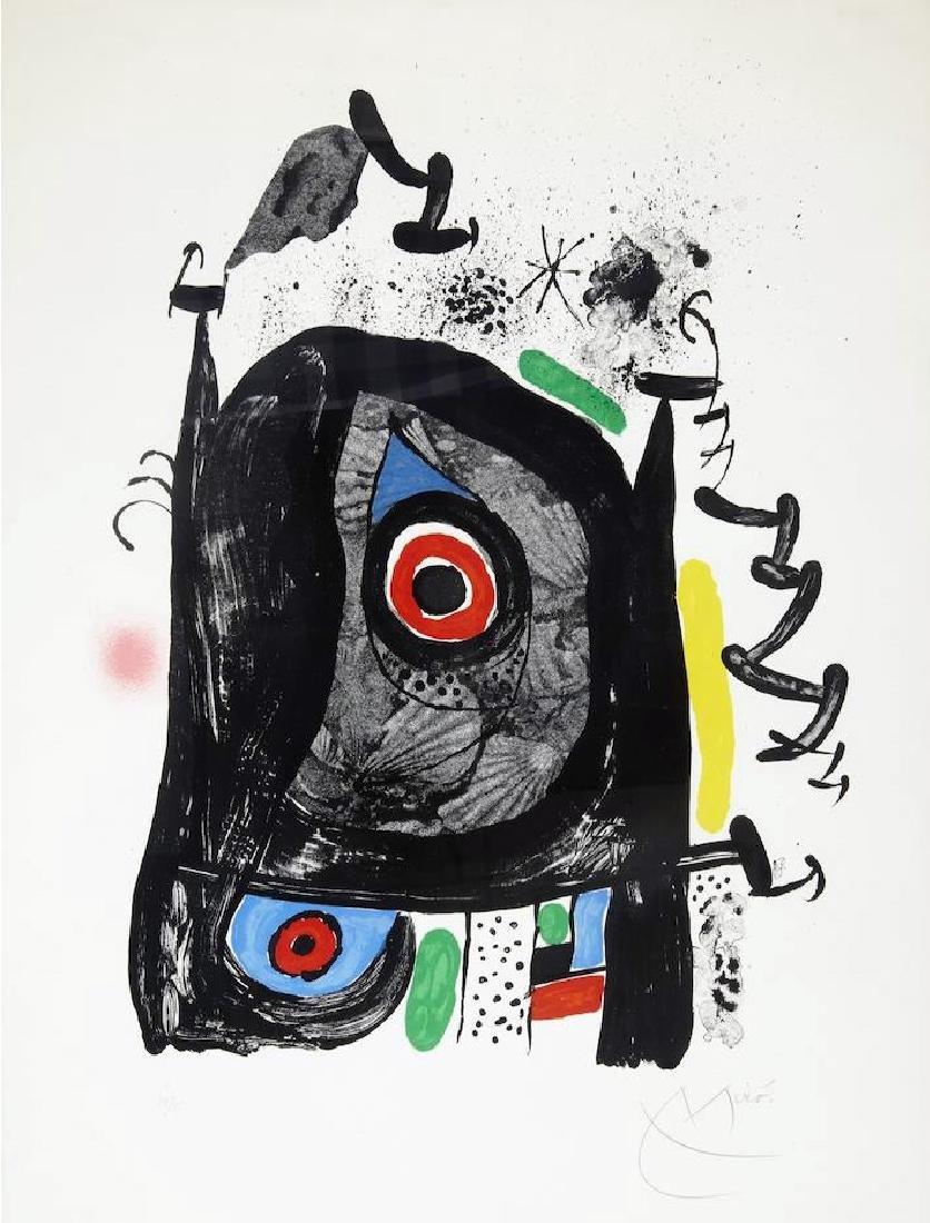 Joan Miro - Le Pelerin de Compostelle