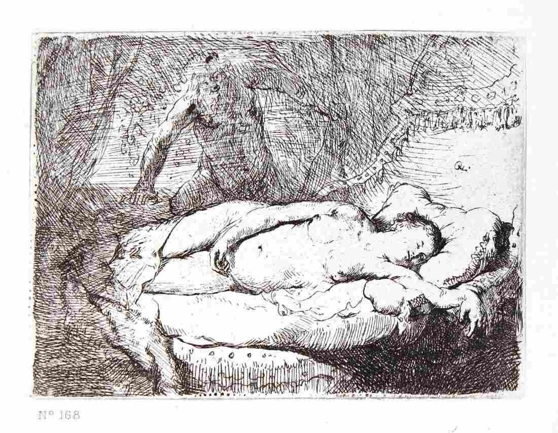 Rembrandt van Rijn - Danae et Jupiter