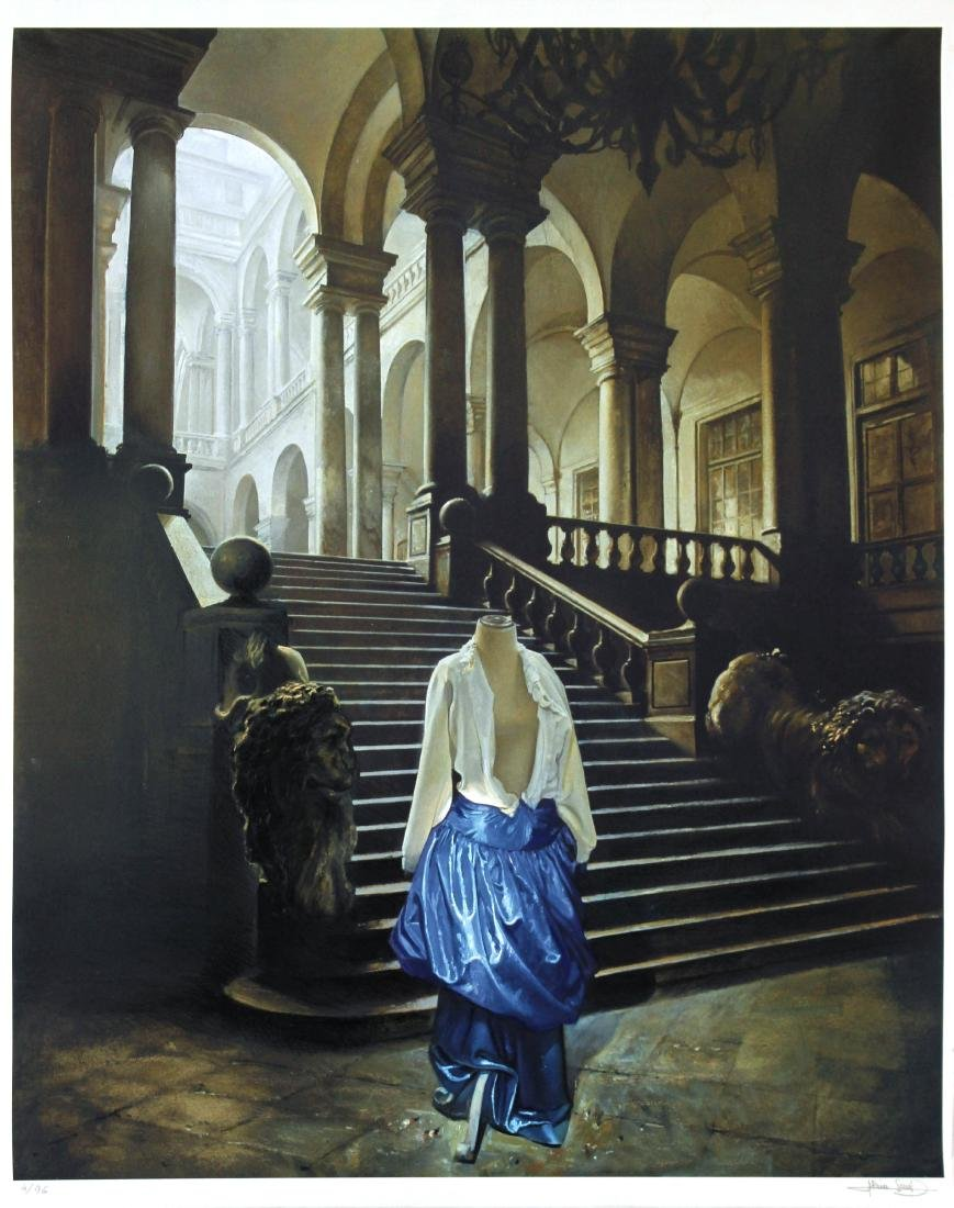 Alain Senez - The Blue Dress