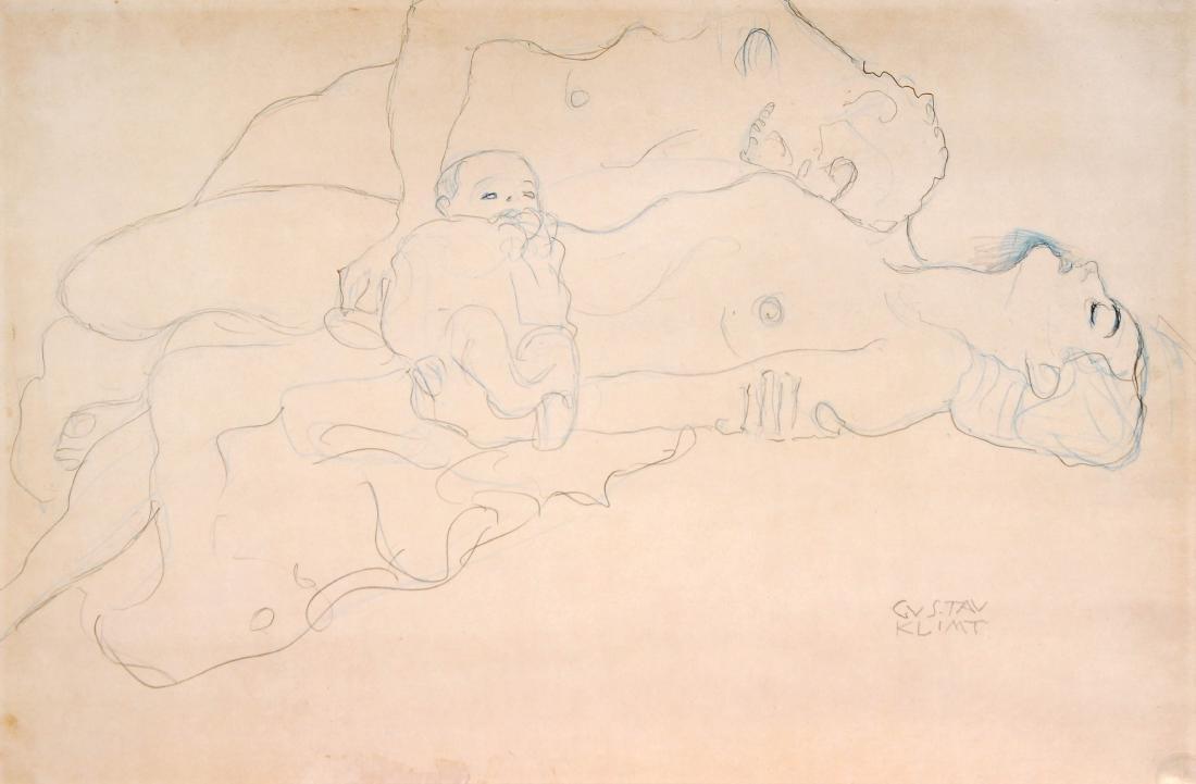 Gustav Klimt - Family Love