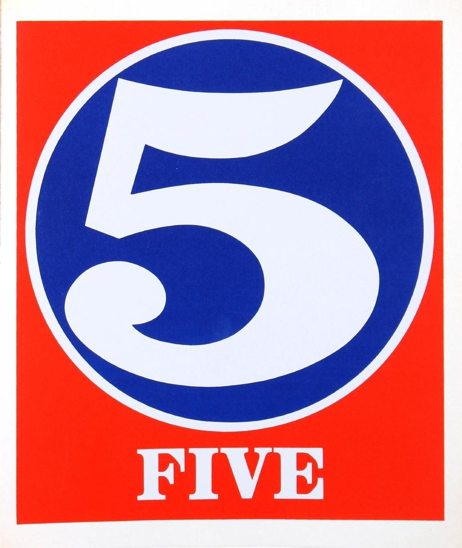 Robert Indiana - Five